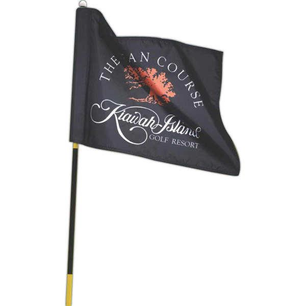 Custom Digitally Printed Golf Pin Flag