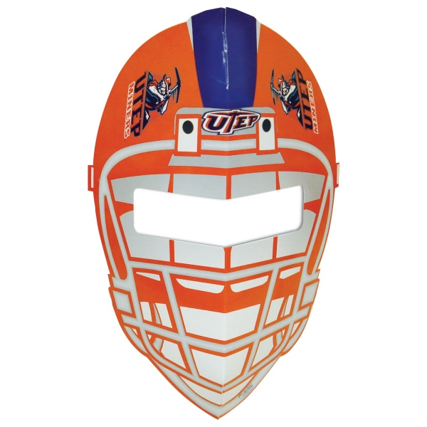 Promotional 3D Football Mask with Elastic Band