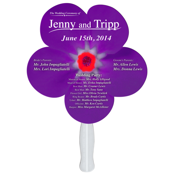 Promotional Daisy flower offset printed fan