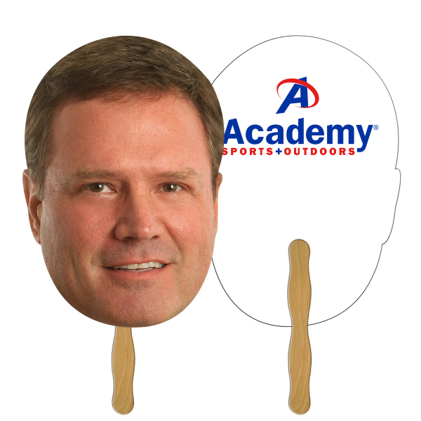 "Imprinted Digital Printed Head 12"" Stick"