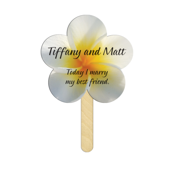 Customized Daisy full color mini fan
