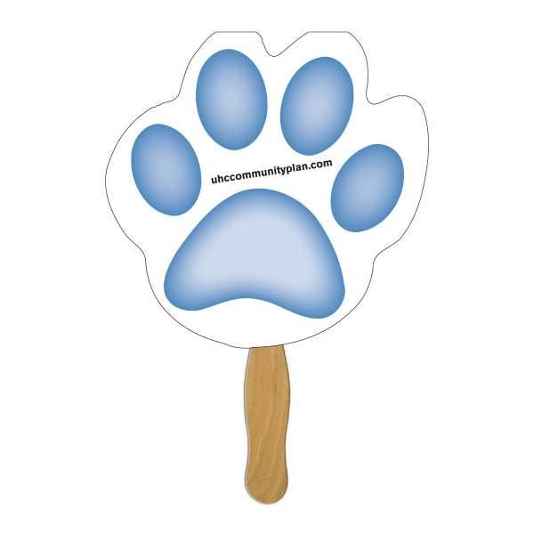 Customized Paw sandwich fan