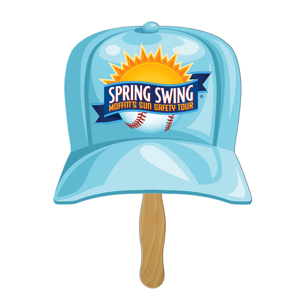 Imprinted Baseball Cap fast fan
