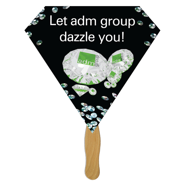 Personalized Diamond Fast Fan