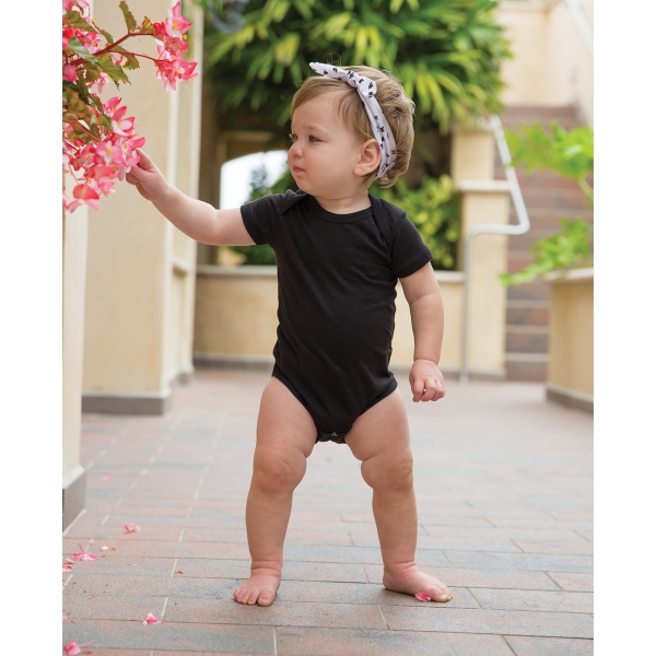 Imprinted Infant One-Piece 3 Snap Bottom Closure