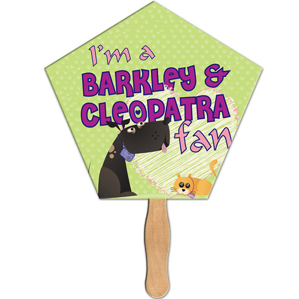 Personalized Church full color fan