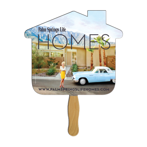 Customized House full color fan