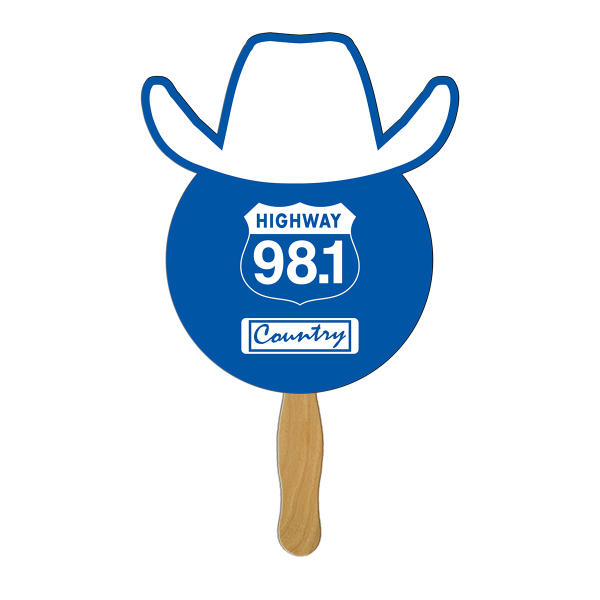 Personalized Cowboy digital econo fan