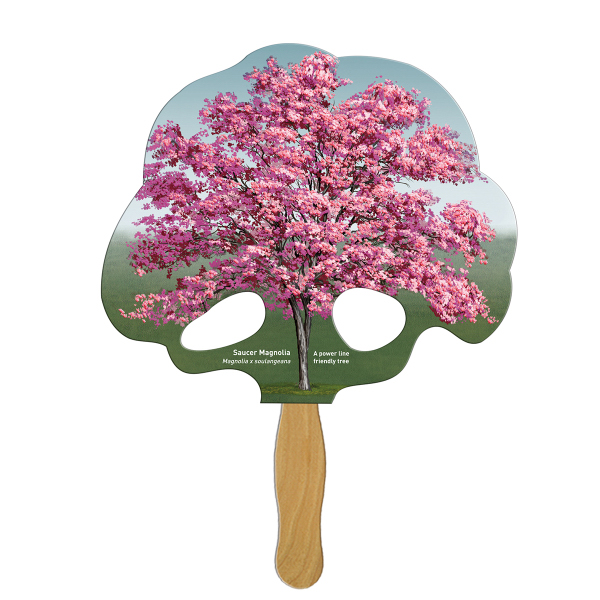 Personalized Tree full color fan
