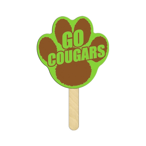 Personalized Paw Mini Hand Fan