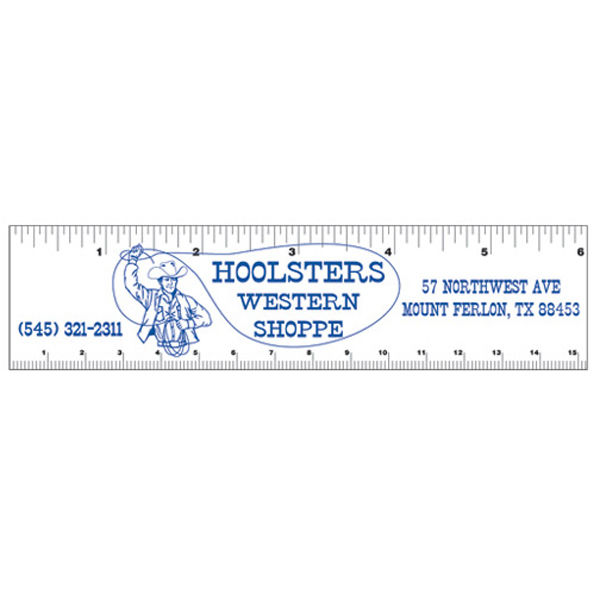 Promotional Flexible Magnet Ruler