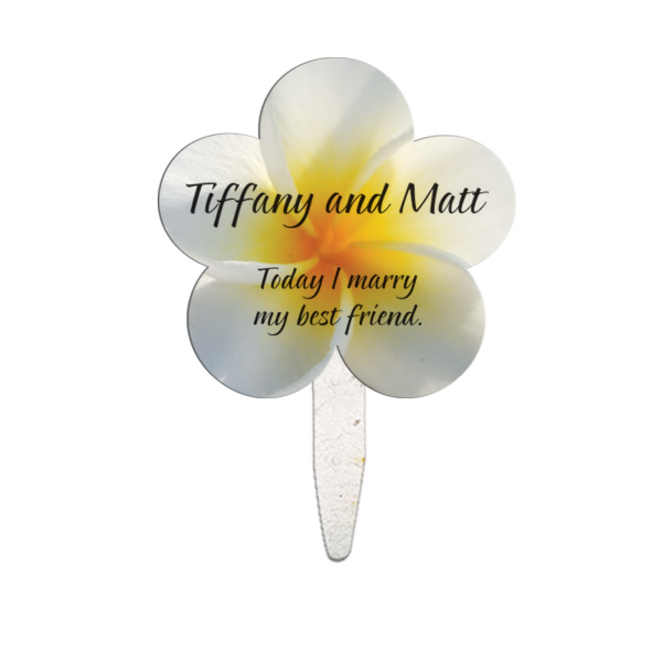 Imprinted Daisy seed stick mini fan