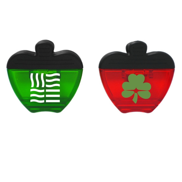 Promotional Apple Magnet Clip