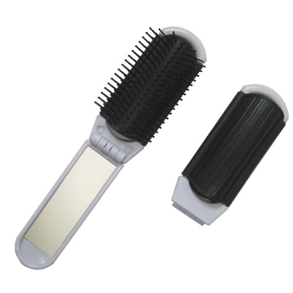 Customized Folding Brush And Mirror