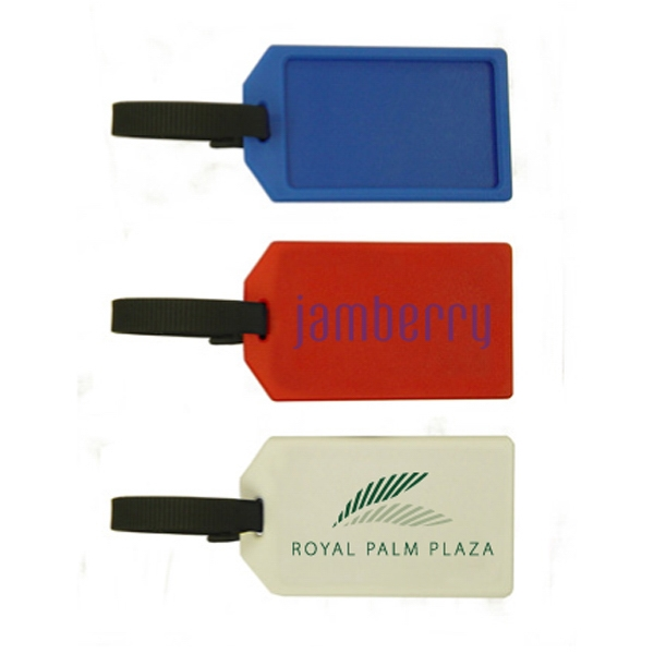 Personalized Luggage Tag Business Card Holder