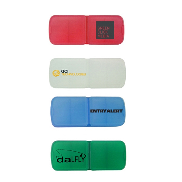 Personalized Pill Box With Bandage Dispenser