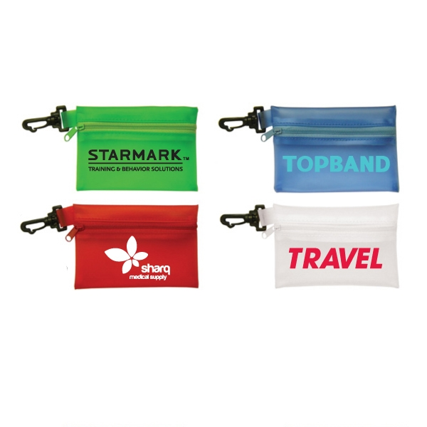 Promotional PVC Pouch With Clip