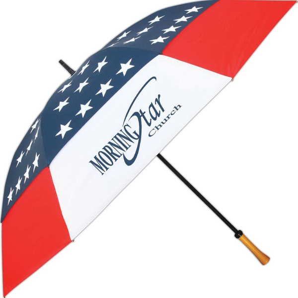 Customized Umbrella With Wind Resistant Design And Manual Open