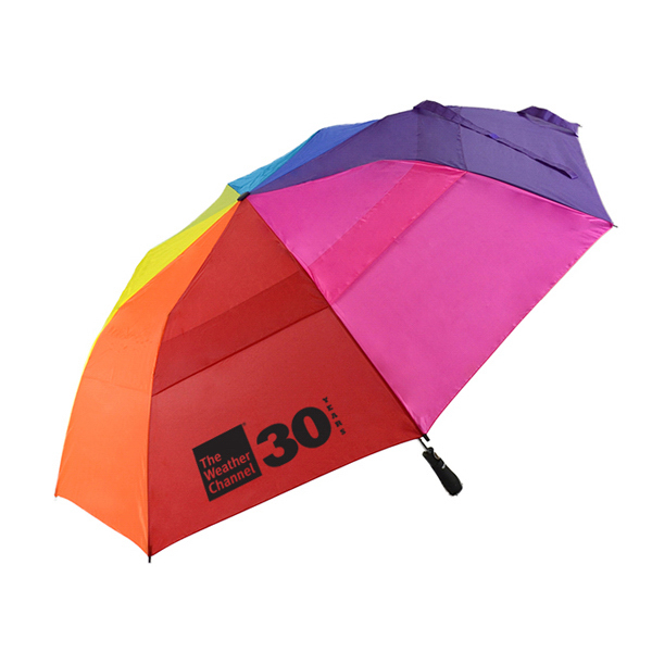 Promotional MVP Rainbow Auto Open Umbrella