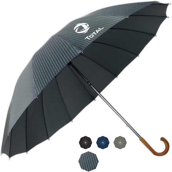 Customized Doorman Fashion Manual Open Umbrella