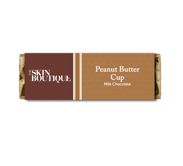 Personalized Candy Bar - Peanut Butter Cup Milk Chocolate Bar