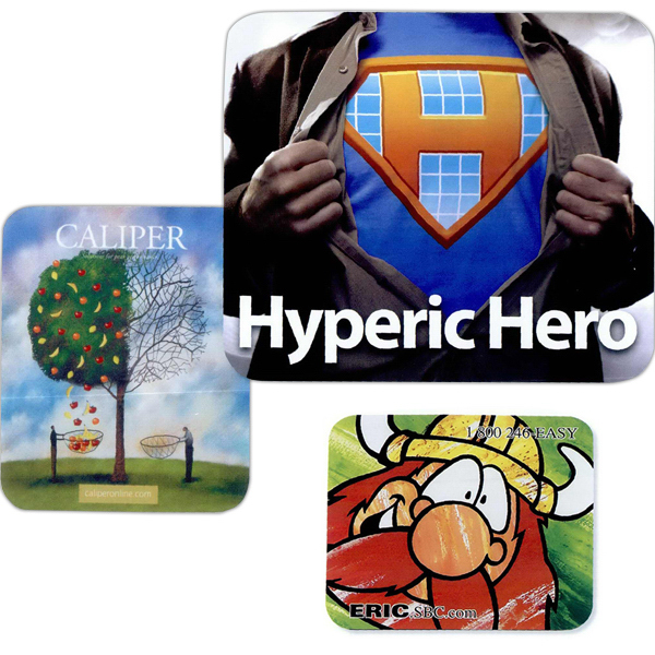 Imprinted Full color soft surface mouse pad