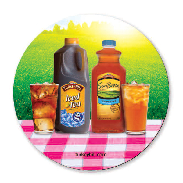 "Promotional Full color neoprene round coaster - 3 3/4"" round"