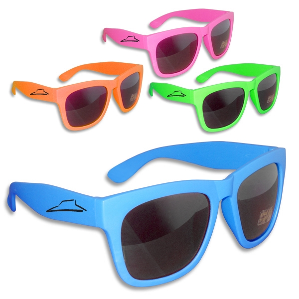 Personalized Premium All Neon Sunglasses