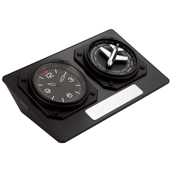Personalized World Time Desk Clock