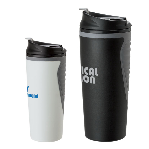 Personalized 16 oz PP/TPR Tumbler