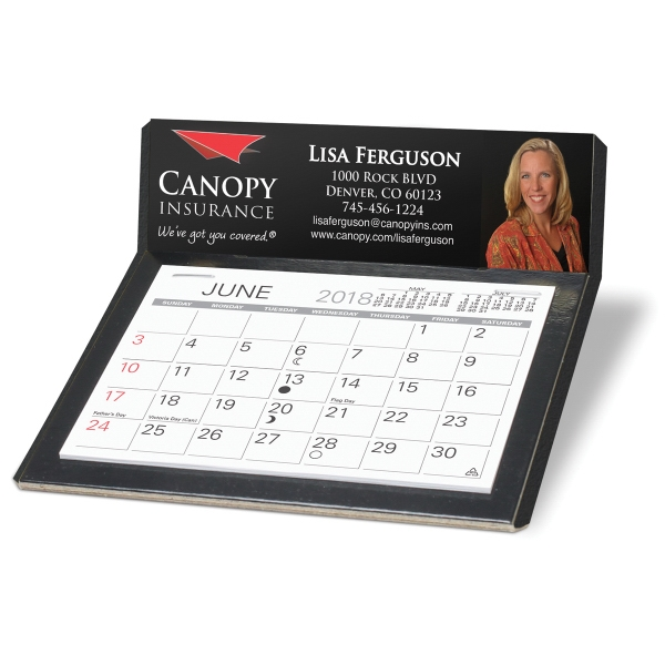Imprinted Desk Calendar