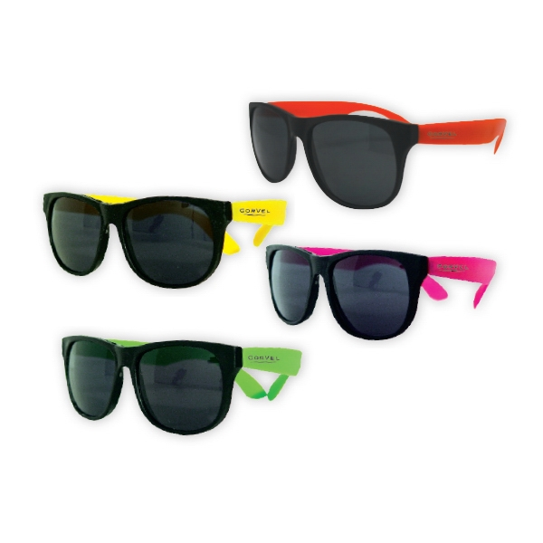 Custom Kids Classic Neon Sunglasses