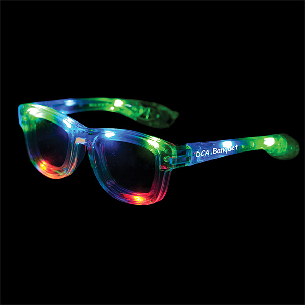 Promotional Light-Up Blues Brothers Glasses