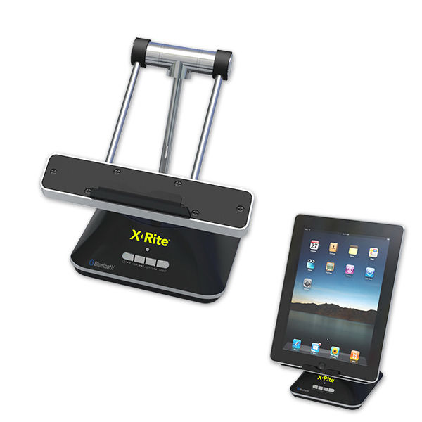 Promotional LED Lamp with Bluetooth Speaker and Desktop Tablet Holder