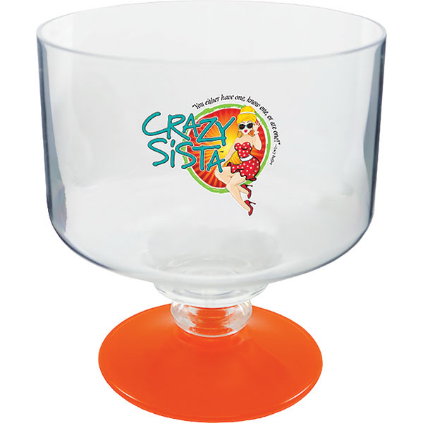 Custom 18 oz Short Stem Margarita Glass
