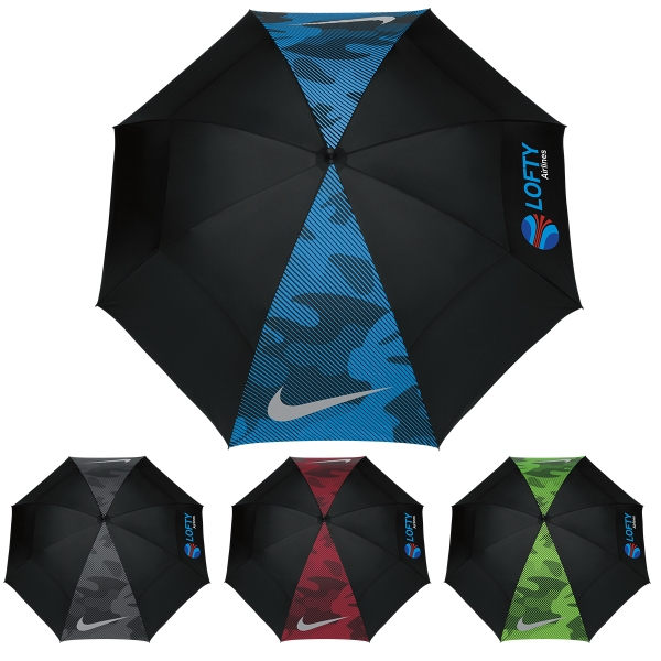 "Imprinted Nike (R) 62"" Windsheer (R) Lite Umbrella"