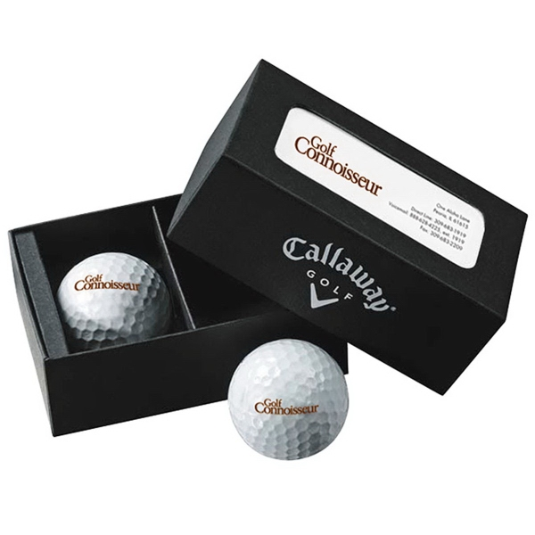 Custom Callaway (R) Business Card Box - Super Soft