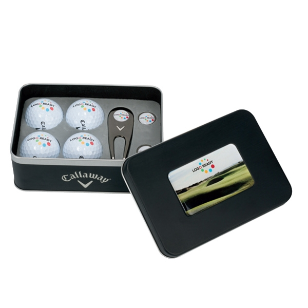 Promotional Callaway (R) 4-Ball Gift Tin
