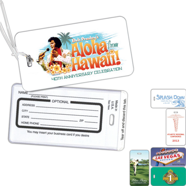 Imprinted Luggage Tag