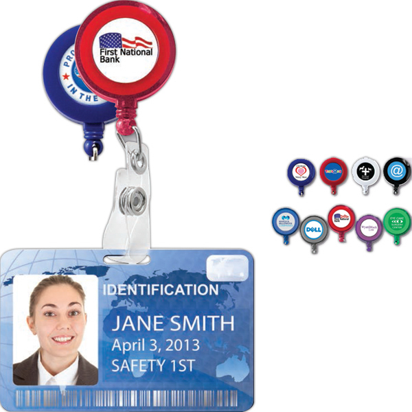 Customized Retractable Badge Holder