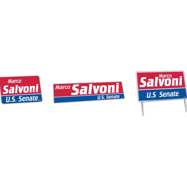 Imprinted Political Campaign Kit