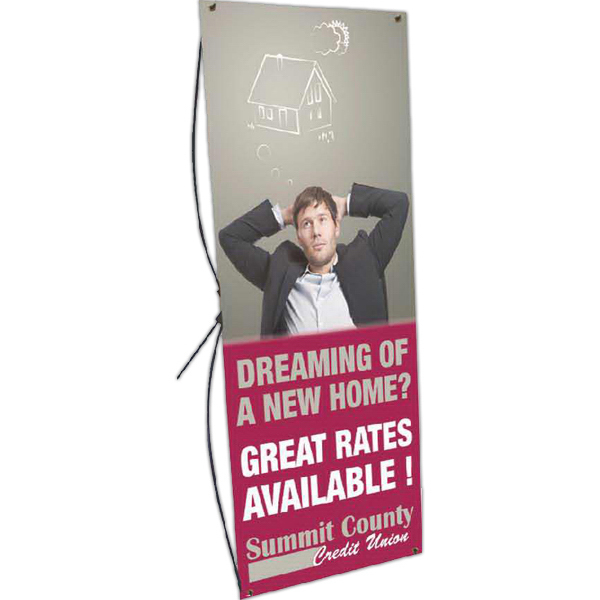 Personalized Banner Stand