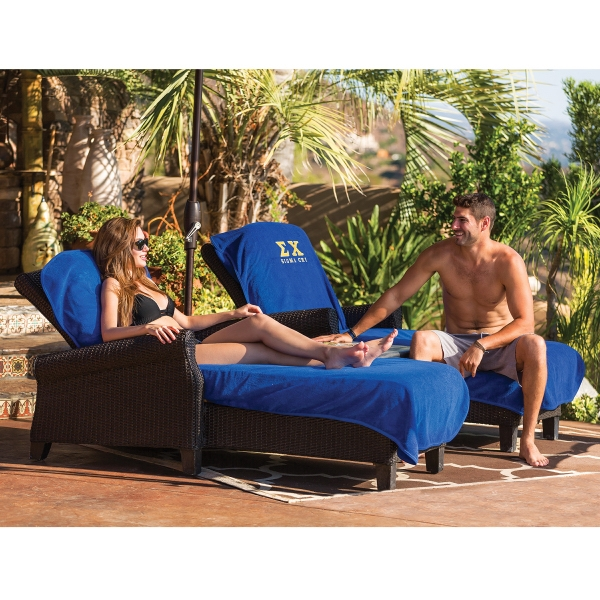 Promotional Terry Lounge Chair Cover