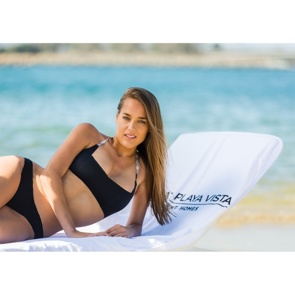 Personalized Velour Chaise Lounge Chair Covers