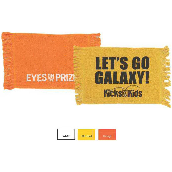Promotional Promo Weight Fringed Loop Terry Fingertip & Spirit Towel