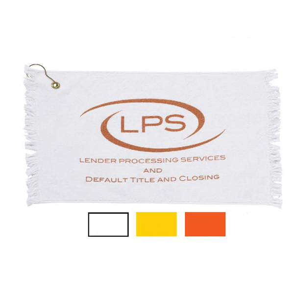 Promotional Promo Weight Fringed Loop Terry Golf Towels