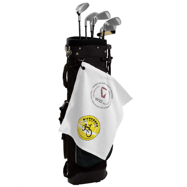 Customized Loop Terry Golf Towel