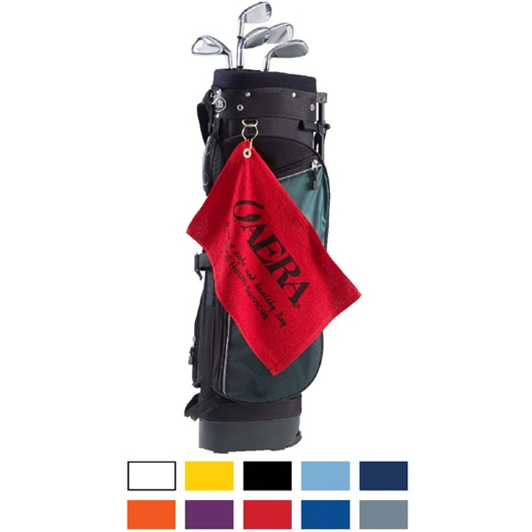 Personalized Promo Weight Terry Golf Towel