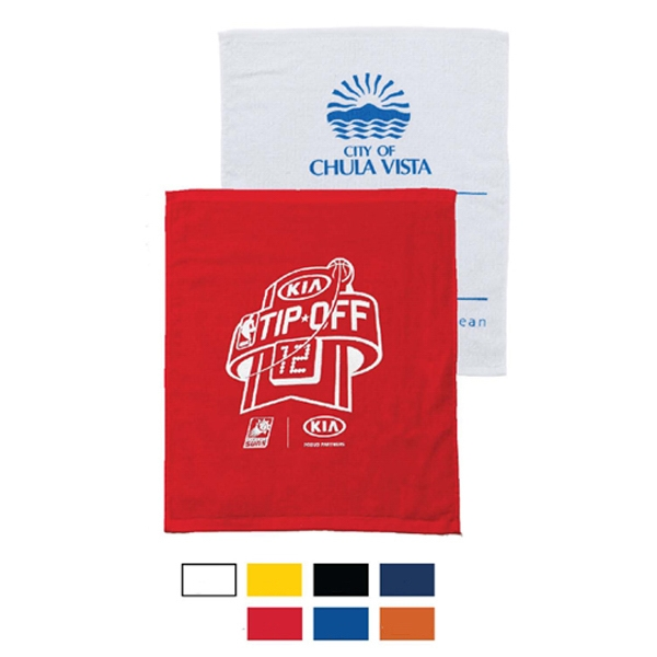 Printed Terry Velour Bar Mop and Fingertip Towel