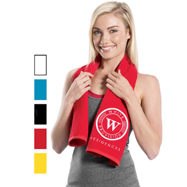 Custom Premium Fitness Towel